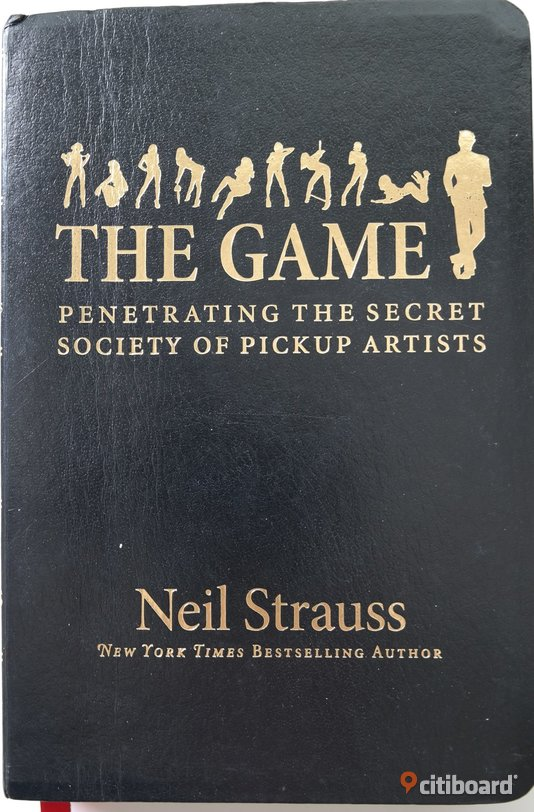 BOOK: The GAME (english) 150 kr. New York Times Bestselling Author! Sollentuna