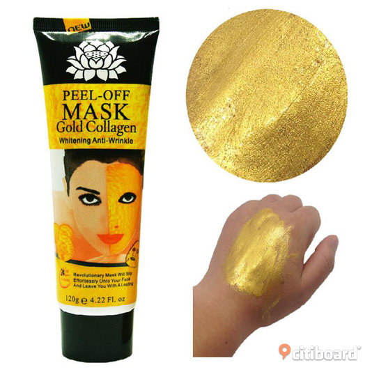 Gold Collagen Peel Off Mask Face   Partille