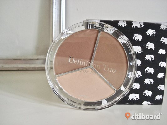 "LINDEX - Definition Trio for Face! Contur/Bronzer/Highlighter! ""Soft Nude""! Ny! Malmö"