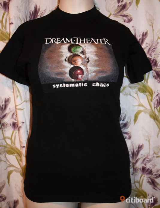 Ny! T-shirt - Dream Theater - Rock/Band/Metal 36-38 (S) Luleå