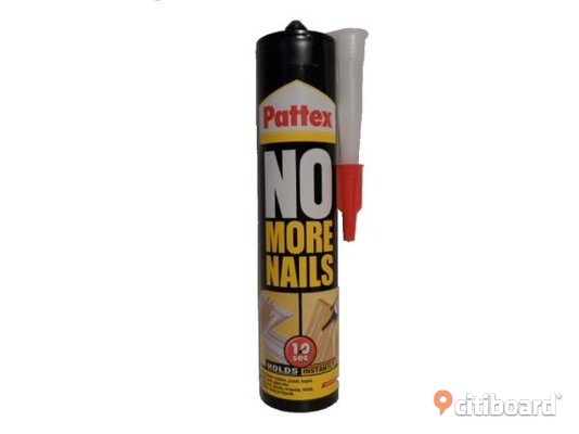 Pattex No More Nails sättlim 280 ml