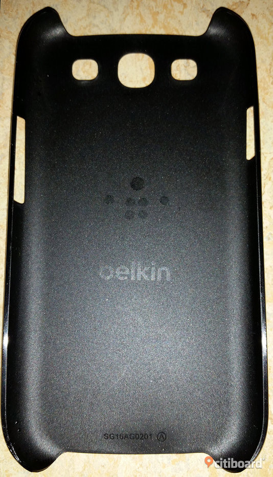Samsung Galaxy S3 i9300 Belkin Snap Shield Hazard Click-On Skal - Svart