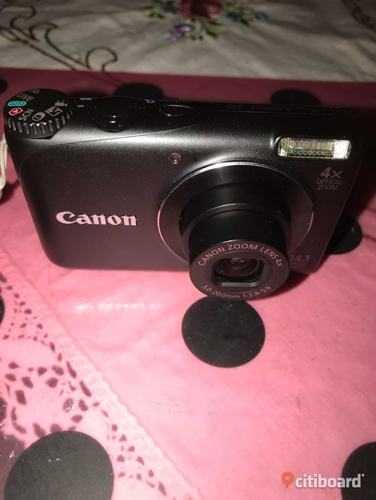 Digitalcamera Canon,med video