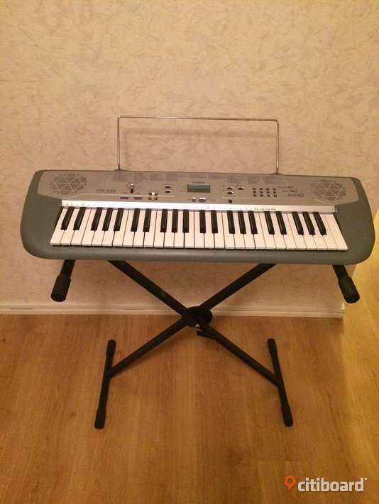Casio Keyboard Musikinstrument Staffanstorp