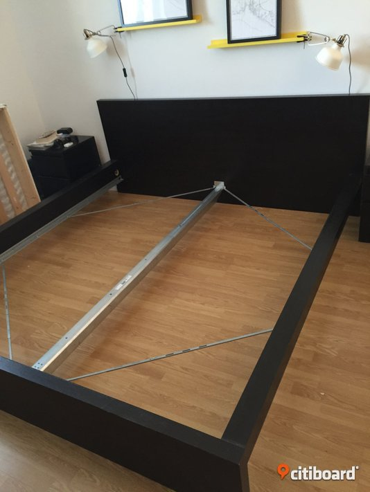 Madrassbotten sultan s ngstomme malm 140 cm nyk ping for Funktionsbett ikea