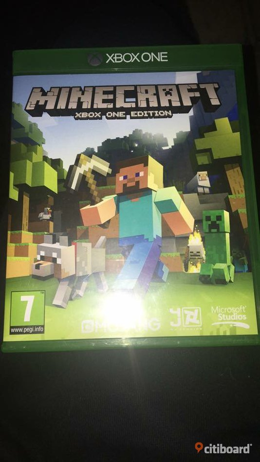 Minecraft Xbox one Norrköping