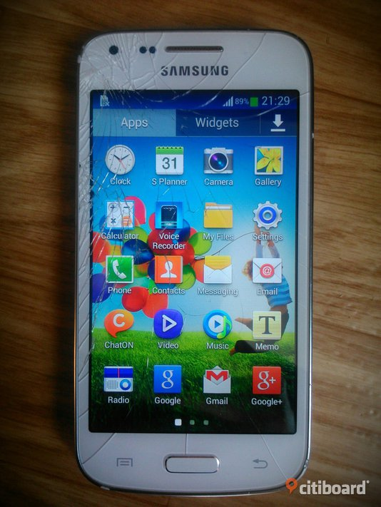 billig Samsung galaxy core plus, 4gb minne
