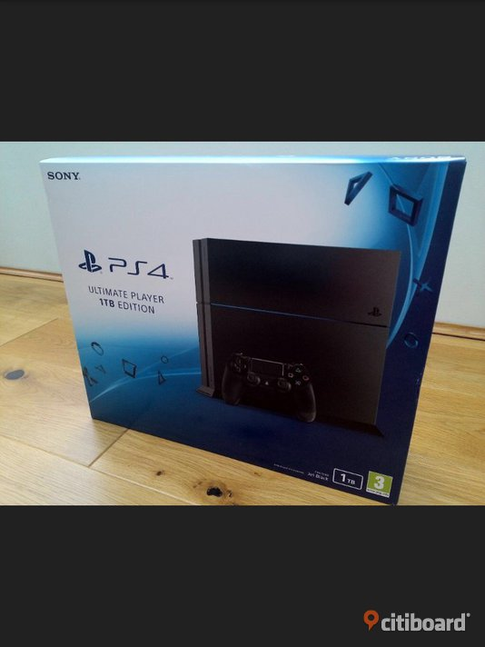 Playstation 4 1TB Uppsala