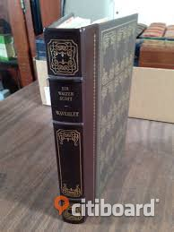 "Sir Walter Scott: ""WAVERLEY"" & Charles Dickens: ""DAVID COPERFIELD""!  Classic books published by Franklin Library in leather with gilt edges! Böcker & Studentlitteratur Stockholm"