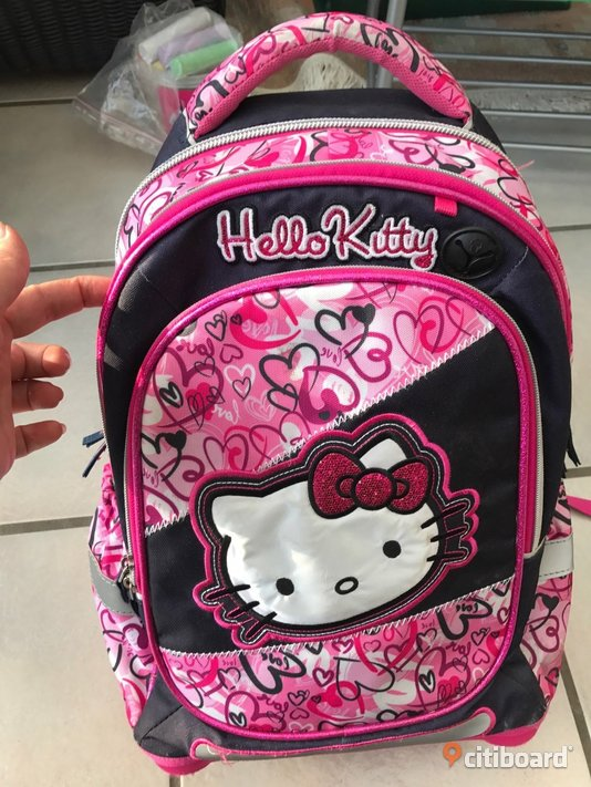 Hello Kitty Skol/Resväska