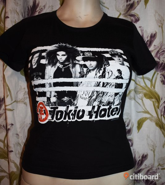 Ny! T-shirt - Tokio Hotel - Rock/Band/Metal 36-38 (S) Norrbotten Luleå