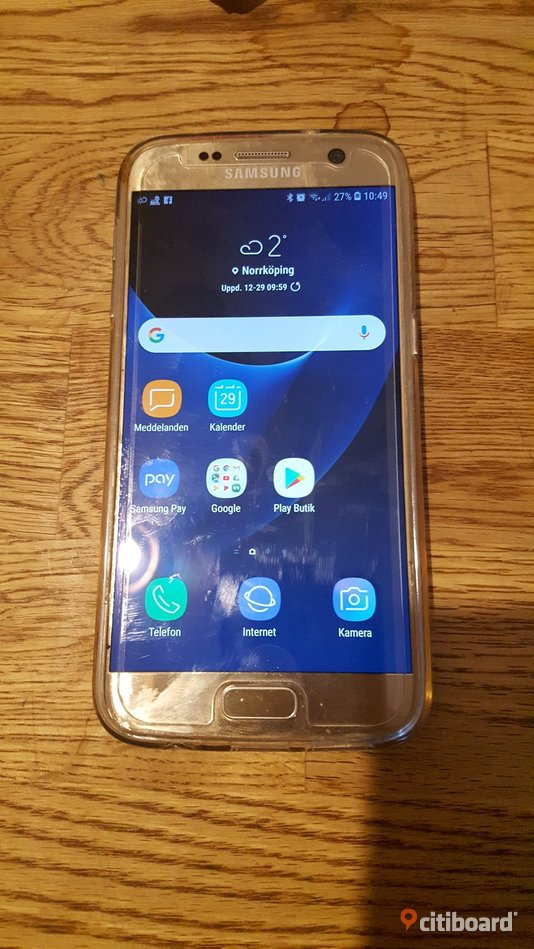 Samsung galaxy s7 gold Norrköping