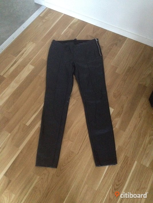 Läder leggins/tights