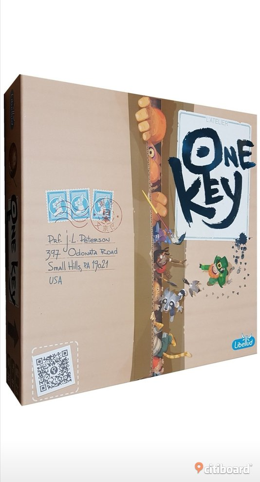 One Key (2019) : Libellud : Coop brädspel med engelsk text english text only edition co-op boardgame Hobby & Samlarprylar Älvsbyn Sälj