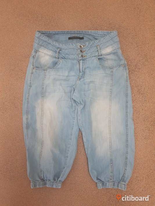 Capri jeans stl.38 Mode Halmstad Sälj