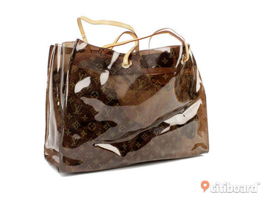 HELT OANVÄND LOUIS VUITTON BEACH BAG!