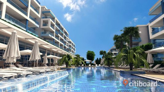 Aura Blue Apartments in Kestel Alanya Turkiet