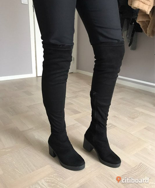 Over the knee boots storlek 37