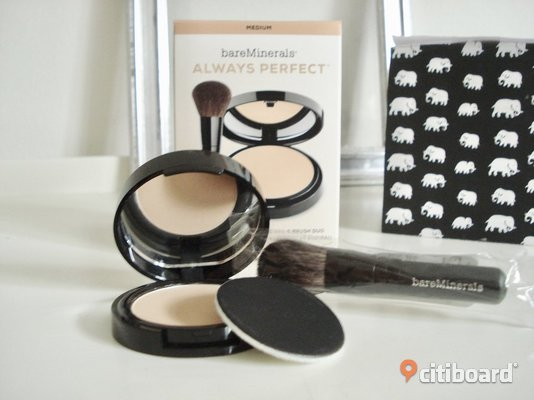 "Bare Minerals - Bare Skin Always Perfect! Puder & borste! ""Medium""! Nytt! Malmö"