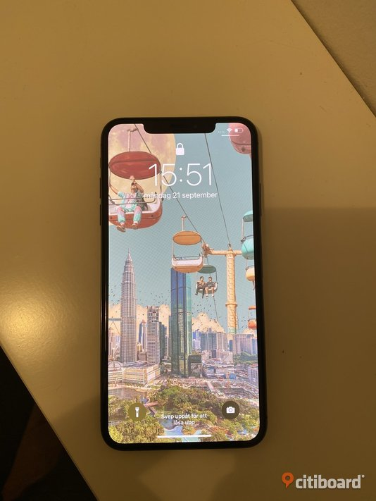 iPhone XS Max 256 Gb Svart Stockholm