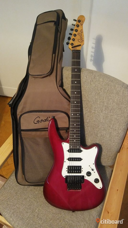 Godin electric guitar G. 2000 series USA Umeå
