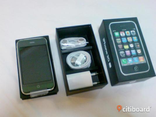 Apple Iphone 4 16GB 32GB + Helt ny iphone 3GS