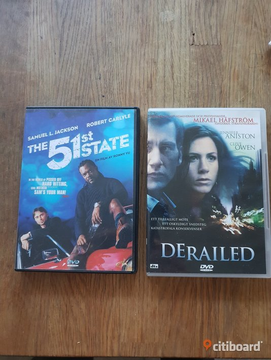 THE 51 ST STATE// DERAILED Norrköping