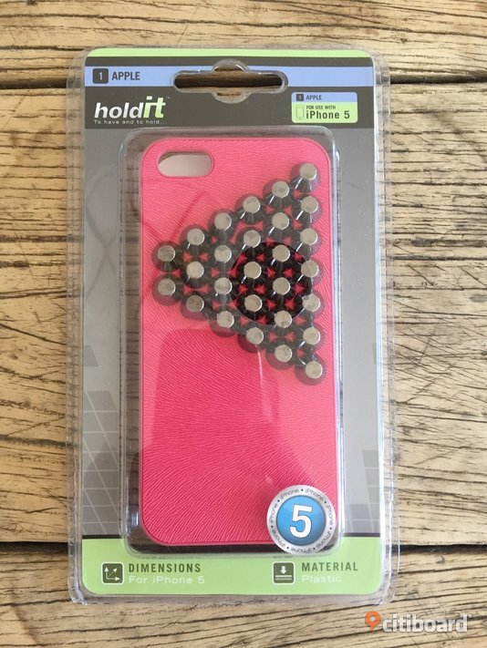 Holdit iPhone 5 case, nytt