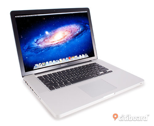 "MacBook Pro (tidig 2011) - 15"" Core i7 Quad, 2.2GHz - 16GB - 512GB SSD"