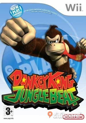 WII Donkey Kong Jungle Beat köpes TV-spel & TV -spelskonsoler Halland Halmstad