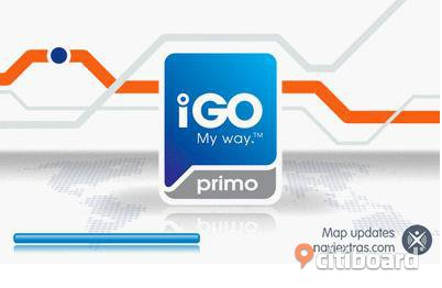 IGO PRIMO Android GPS for Europe