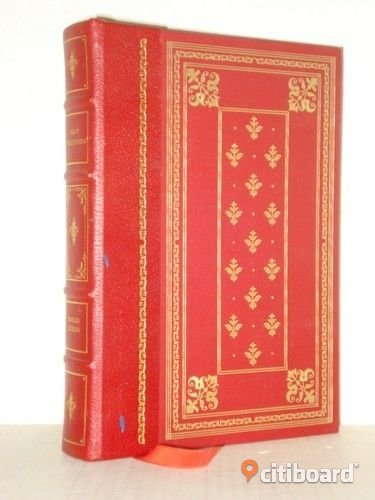 "CHARLES DICKENS' ""GREAT EXPECTATIONS"" in Franklin Library edition Böcker & Studentlitteratur Stockholm"