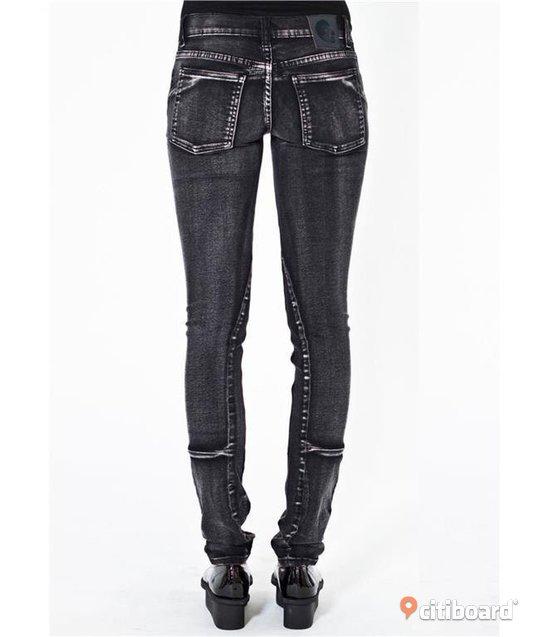 Cheap Monday Narrow Jeans Slim Skinny fit 28/34 Midja 27-28 tum Huddinge