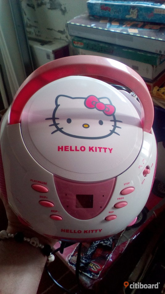 Hello kitty cd spelare Motala