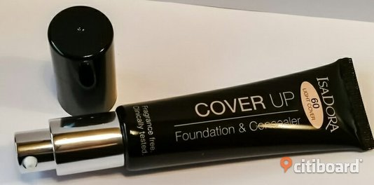 Isadora cover up; Foundation och concealer  no: 60 light cover  Falun / Borlänge