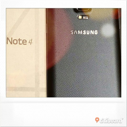 Samsung Galaxy Note 4 med nytt batteri