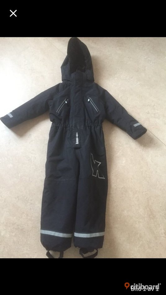 kaxs overall storleksguide