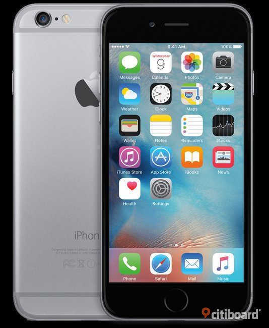 iPhone 6 - Space Grey - 16 GB Stockholm Solna Sälj