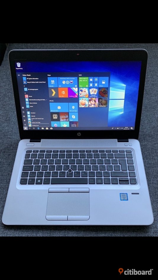 Hp Elitebook 840 G4 i7(7e gen), Ram 8 GB, SSD 256 GB