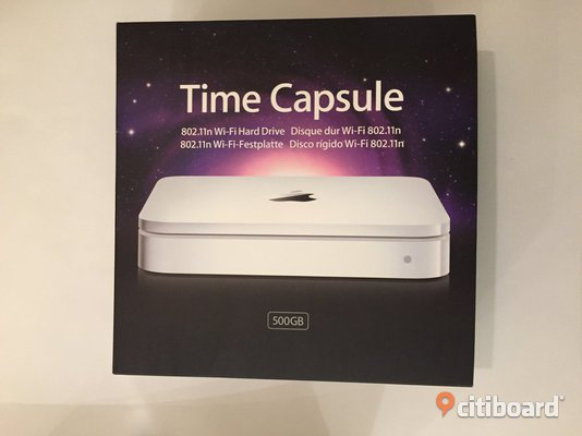 Apple AirPort Time Capsule 802.11n (1:a generationen)