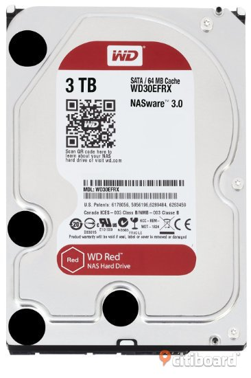 WD Red 3 TB HDD Norrköping