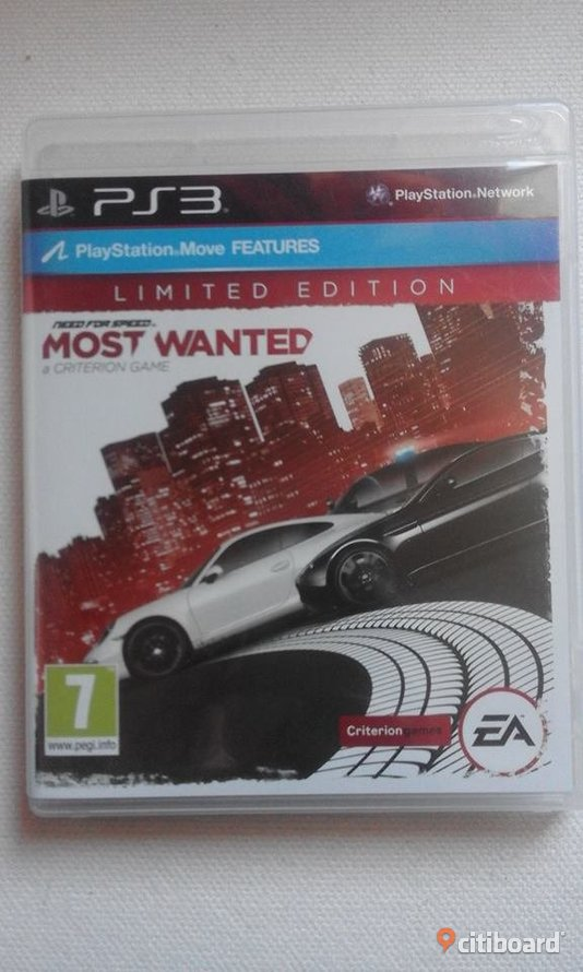 Need for speed och Most Wanted Playstation 3 PS3 Örebro Örebro