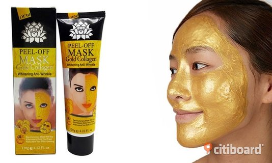 Gold Collagen Peel Off Mask Face   Partille Sälj