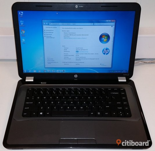 HP Pavilion G6 - Core i5 - 6GB - 640GB - Windows 10 Umeå