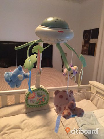 Säng mobil fisher Price Borås / Mark / Bollebygd