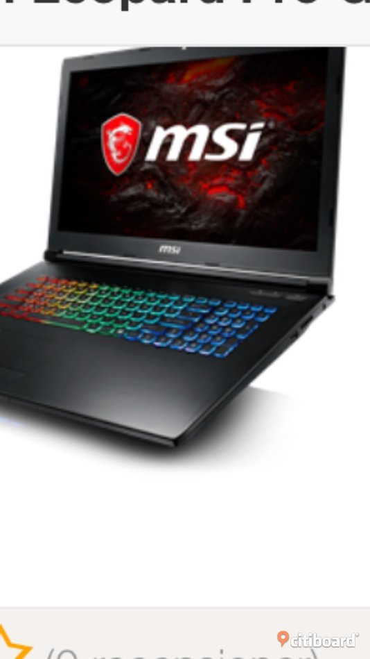 Msi laptop Linköping
