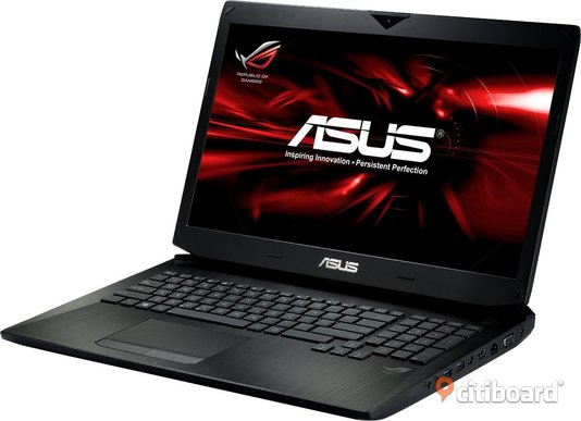 Asus G750JX gaming laptop Håbo Sälj