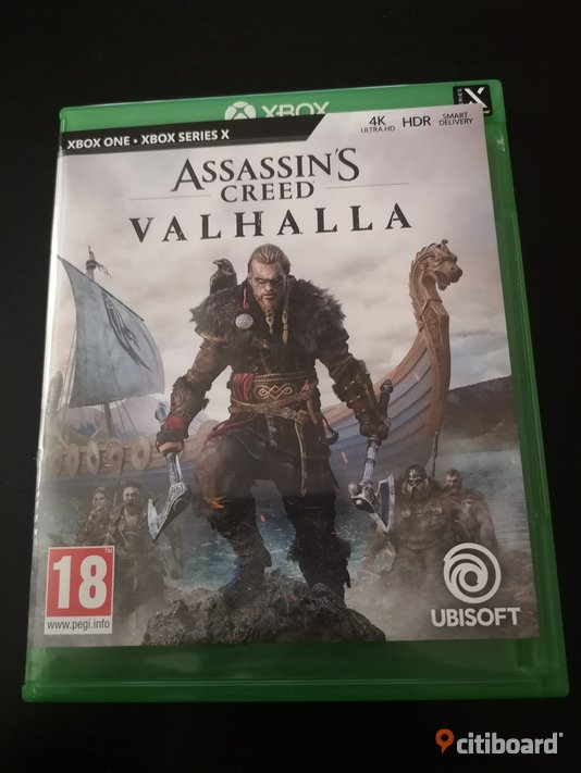 Xbox one spel assassins creed valhalla & the witcher 3 Borås / Mark / Bollebygd