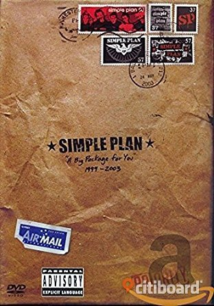 DVD Simple Plan DVD & VHS filmer Umeå Sälj