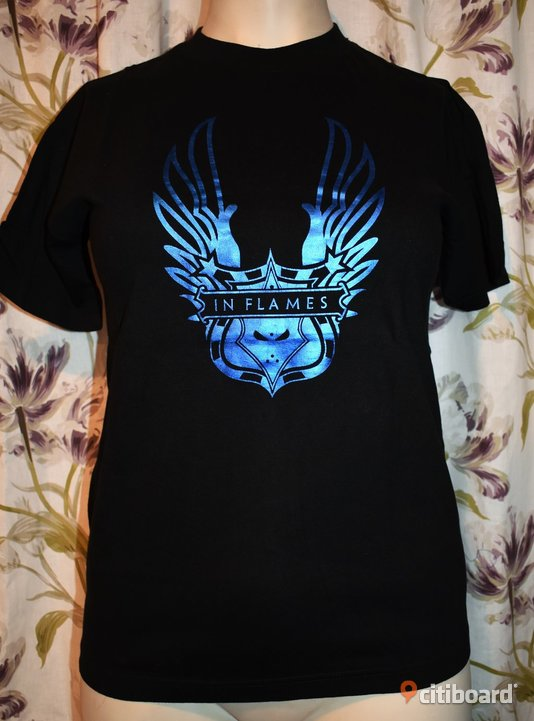 Ny! T-shirt - In Flames - Rock/Band/Metal 36-38 (S) Luleå